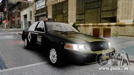 Ford Crown Victoria Cab pour GTA 4