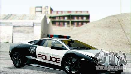 Lamborghini Reventon Police Car pour GTA San Andreas