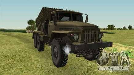 Ural 375 BM-21 für GTA San Andreas