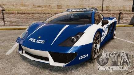 GTA V Pagassi Vacca Police pour GTA 4