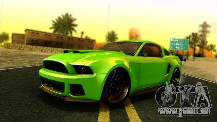 Ford Mustang GT 2013 v2 für GTA San Andreas