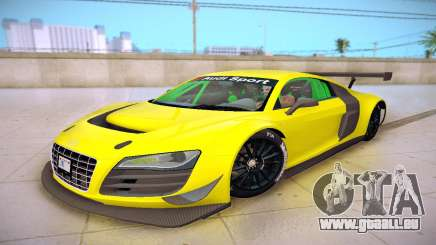 Audi R8 LMS Ultra v1.0.0 für GTA San Andreas