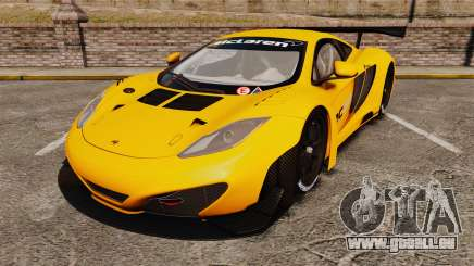 McLaren MP4-12C GT3 (Updated) pour GTA 4