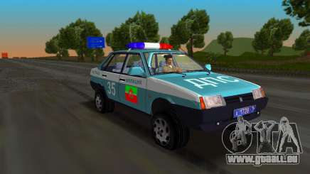 VAZ 21099 Miliz für GTA Vice City