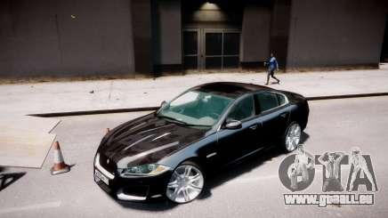 Jaguar XF-R 2012 v1.2 pour GTA 4