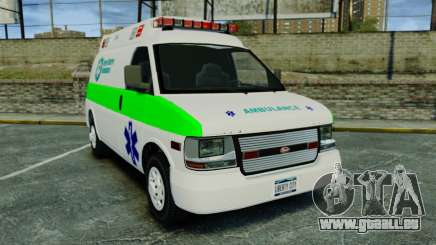 Vapid Speedo Rural Metro EMS [ELS] für GTA 4
