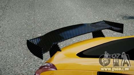 Nissan 370Z 2009 pour GTA 4 Vue arrière