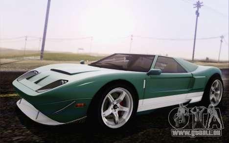 Insipide Bullet GT из GTA 5 pour GTA San Andreas laissé vue