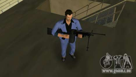 M249 из Battlefield 2 für GTA Vice City fünften Screenshot