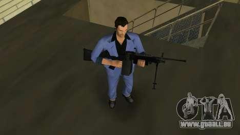 M249 из Battlefield 2 pour GTA Vice City cinquième écran