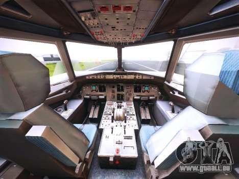 Airbus A320 Cebu Pacific Air für GTA San Andreas Motor