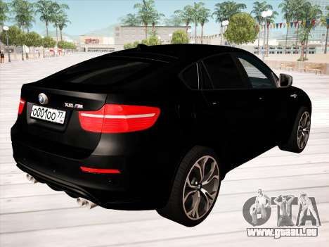 BMW X6M 2010 pour GTA San Andreas
