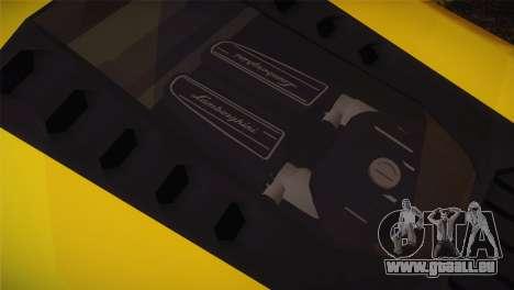 Lamborghini Huracane LP 610-4 V2.0 pour GTA San Andreas vue de droite