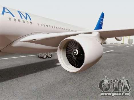 A330-202 China Eastern für GTA San Andreas rechten Ansicht