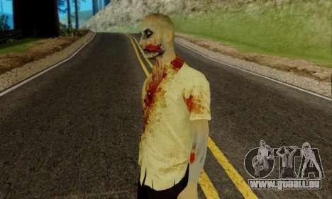 Zombies von GTA V für GTA San Andreas zweiten Screenshot