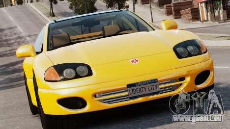 Dodge Stealth Turbo RT 1996 pour GTA 4 est une gauche