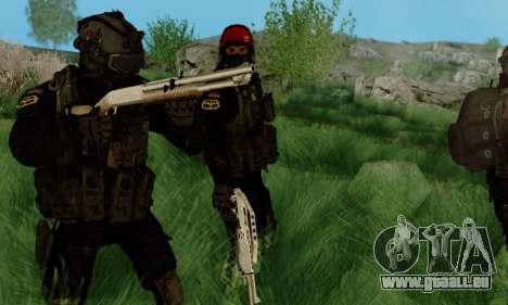 Kopassus Skin 3 pour GTA San Andreas deuxième écran