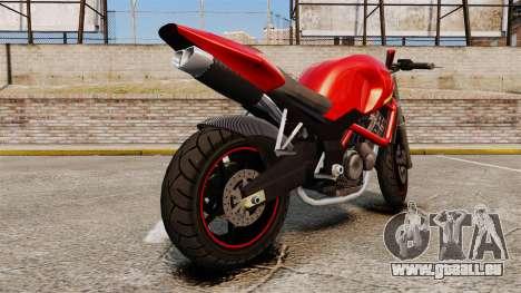 GTA V Pegassi Ruffian [Update] pour GTA 4 est un droit