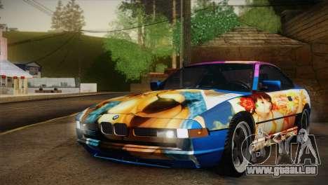 BMW M8 Custom pour GTA San Andreas vue intérieure