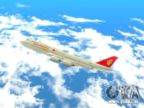 Boeing 747 Air China pour GTA San Andreas laissé vue