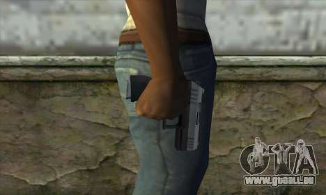 GTA V Combat Pistol für GTA San Andreas dritten Screenshot
