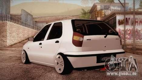 Fiat Palio BKModifiye für GTA San Andreas zurück linke Ansicht