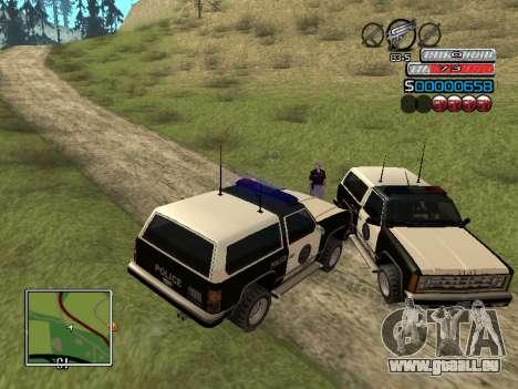 Die neue C-HUD für GTA San Andreas sechsten Screenshot