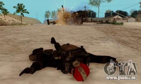 Kopassus Skin 1 pour GTA San Andreas