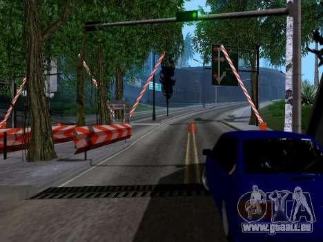 La douane de Los Santos, San Fierro v2.0 pour GTA San Andreas troisième écran