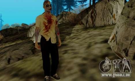 Les Zombies de GTA V pour GTA San Andreas troisième écran