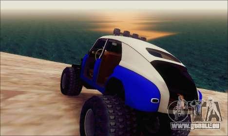 GAZ M20 Monstre pour GTA San Andreas laissé vue