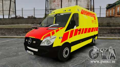 Mercedes-Benz Sprinter Finnish Ambulance [ELS] pour GTA 4