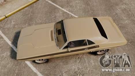 Dodge Challenger RT 1972 für GTA 4 rechte Ansicht