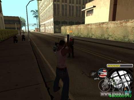 C-HUD Andy Cardozo pour GTA San Andreas