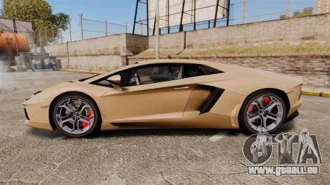 Lamborghini Aventador LP700-4 2012 [EPM] für GTA 4 linke Ansicht