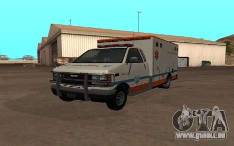 GTA 5 Ambulance für GTA San Andreas