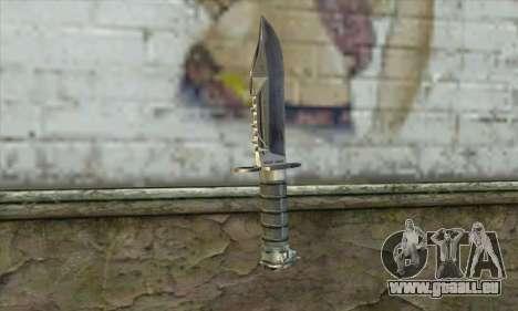 Le couteau de Stalker pour GTA San Andreas deuxième écran
