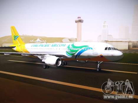 Airbus A320 Cebu Pacific Air pour GTA San Andreas