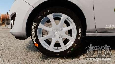 Mazda 2 Pizza Delivery 2011 pour GTA 4 Vue arrière