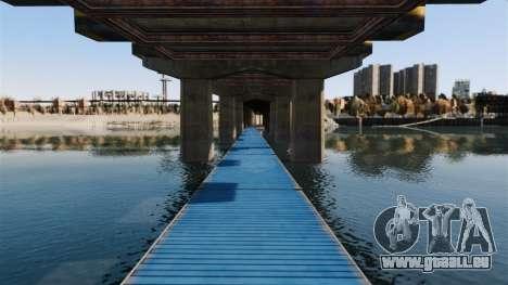 Die Straße unter der Brücke für GTA 4