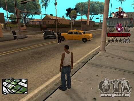 C-HUD Iron man für GTA San Andreas