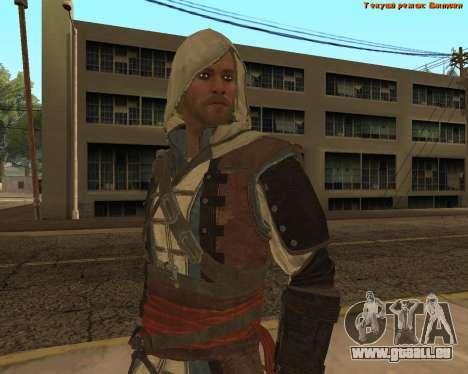 Assassin Edward pour GTA San Andreas cinquième écran