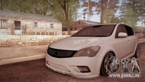 Kia Ceed 2011 SA Plates pour GTA San Andreas