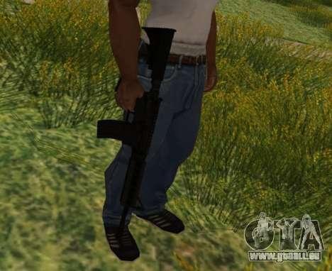 M4 CQB pour GTA San Andreas cinquième écran