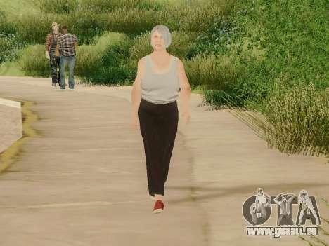Femme âgée pour GTA San Andreas cinquième écran