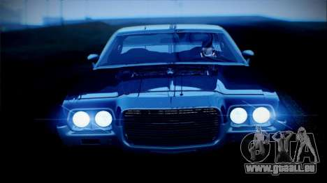 Ford Gran Torino De 1972 pour GTA San Andreas laissé vue