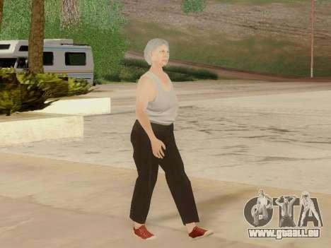 Femme âgée pour GTA San Andreas septième écran