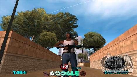 C-HUD Google für GTA San Andreas