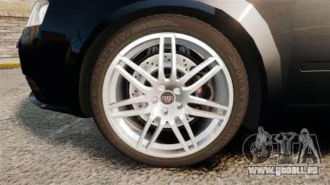 Audi S4 Avant TEK [ELS] pour GTA 4 Vue arrière