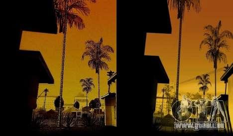 HD carte, radar et menu pour GTA San Andreas quatrième écran